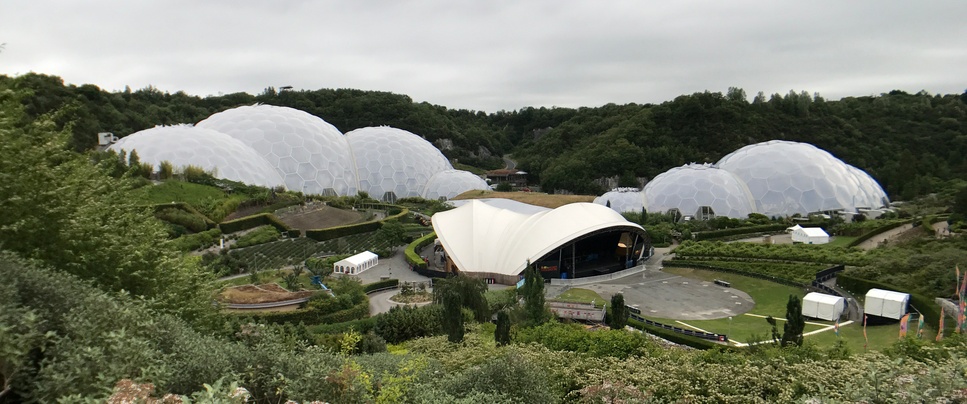 The Eden Project Summer 2017