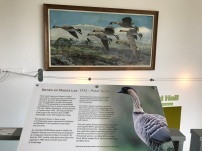 Sir Peter's story is told in prominence in the visitor centre