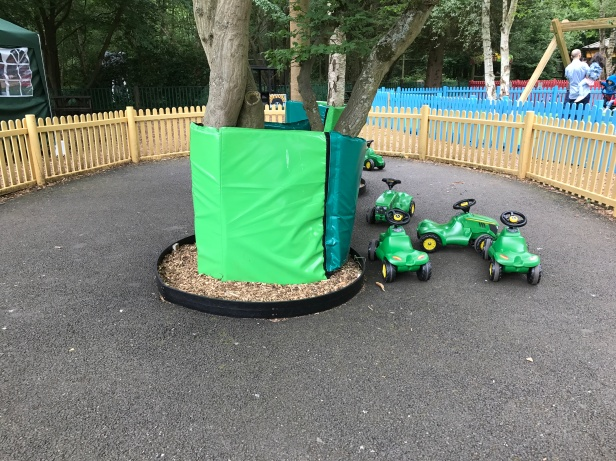Time for a spot of go-carts between conservation?